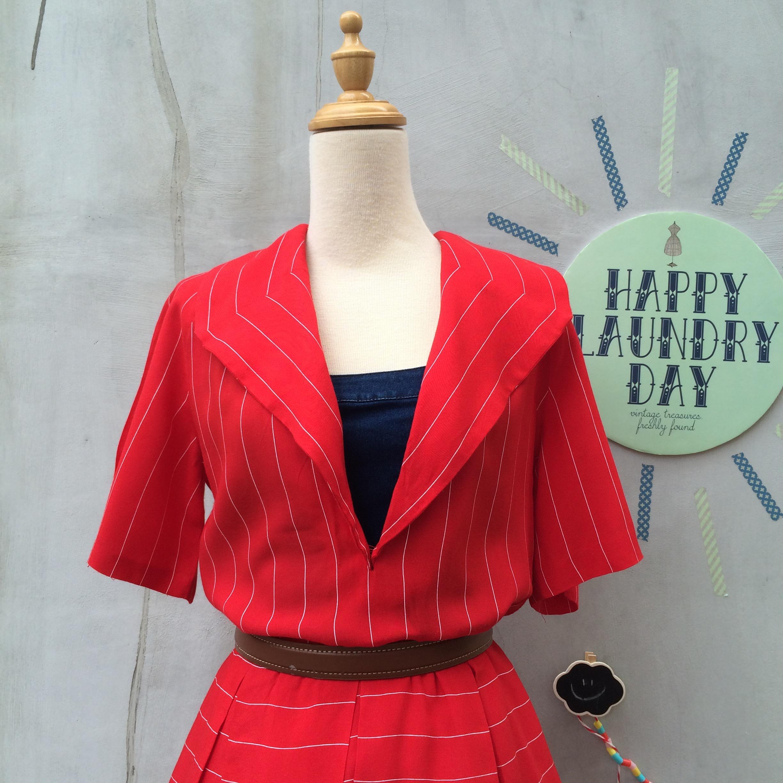 Homemade Red Dresses